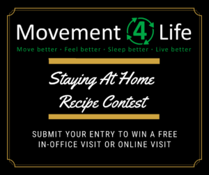 Staying At Home Recipe Contest
