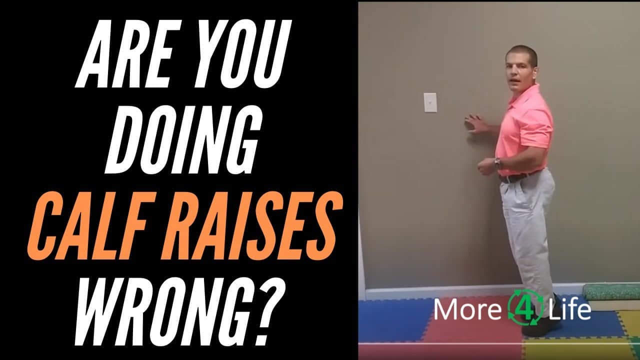 Are you doing calf raises wrong