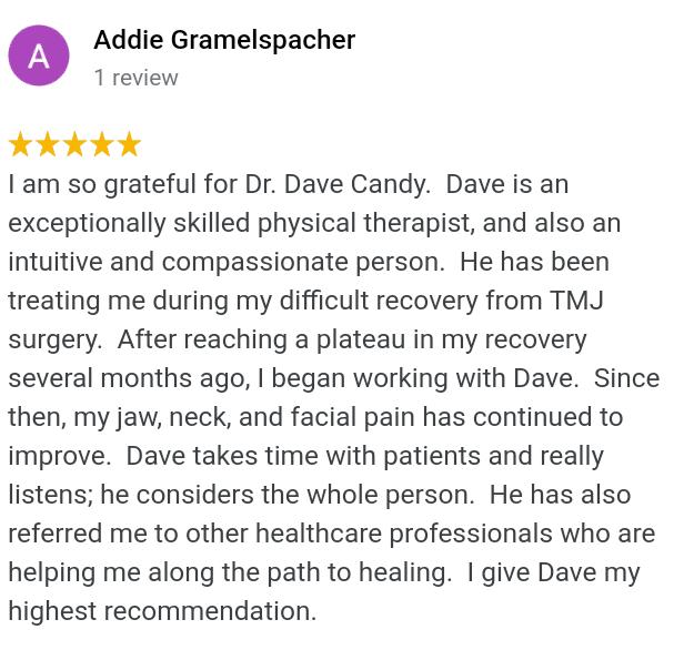 5 star TMJ treatment review